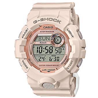 Casio G-Shock Quartz Digital LCD Dial Pink Resin Strap Ladies Watch GMD-B800-4ER