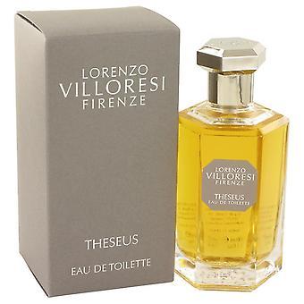Theseus eau de toilette spray door lorenzo villoresi 533417 100 ml