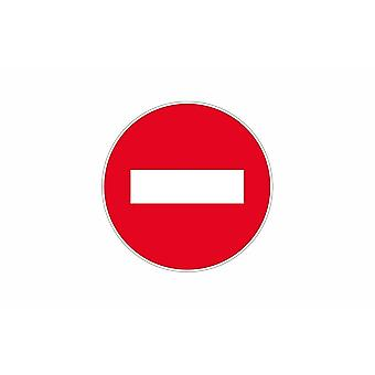 Stick stick sticker adhesif signage plaque door sign forbidden
