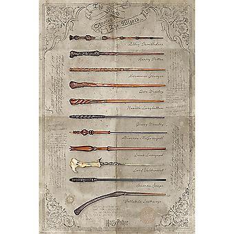 ملصق عصا هاري بوتر