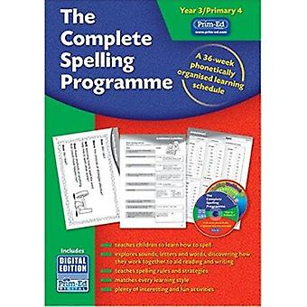 The Complete Spelling Programme Year 3/Primary 4 - A 36-week Phonetica