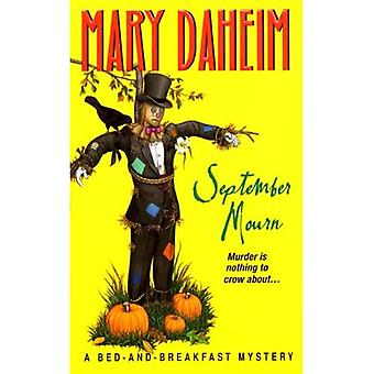 September Mourn (Bed-And-Breakfast Mysteries)