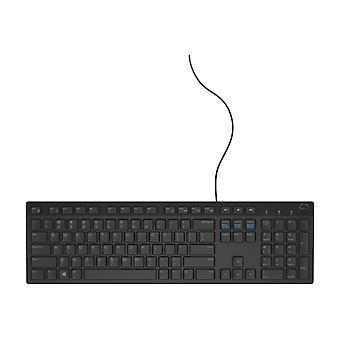 Dell KB216 Wired Multimedia Keyboard (Black)