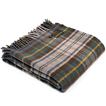 Tweedmill Pure New Wool Tartan Antique Dress Gordon Throw