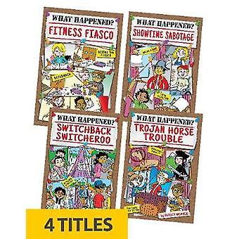 What Happened? Set 2 (Set of 4) by Verity Weaver - 9781631634079 Book
