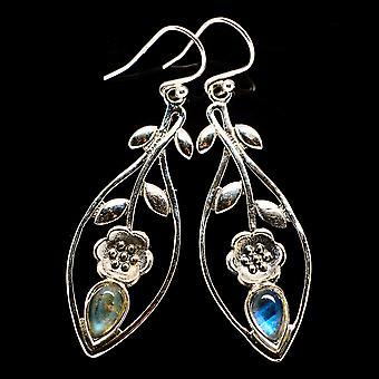 Rainbow Moonstone Earrings 2