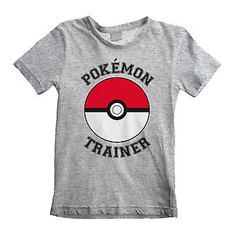 Pokemon Trainer Poke Ball Boys T-Shirt | Official Merchandise