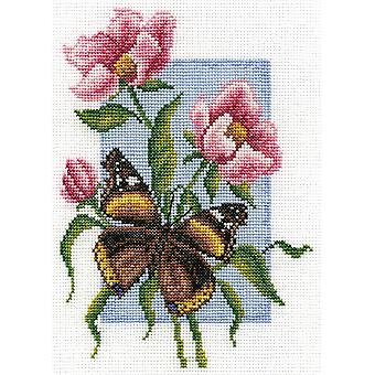 Panna Cross Stitch Kit : Admiral Butterfly