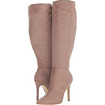 Charles by Charles David Women's Dallan Boot Taupe Stretch 4X