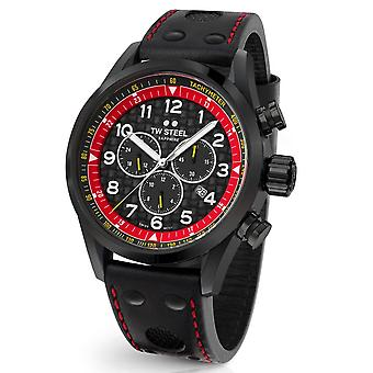TW Steel Swiss Volante SVS303 TCR Special Edition chronograph watch 48mm