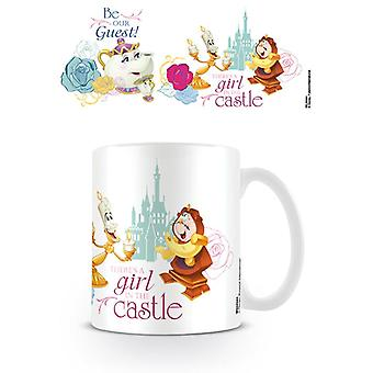 Beauty and the Beast Be Our Guest Mug