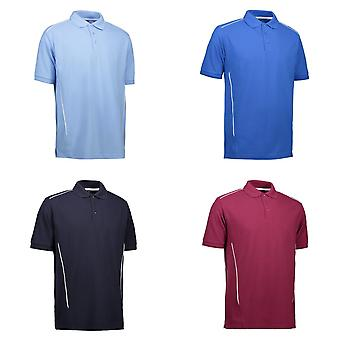 ID mens Pro Wear leidingen Polo shirt