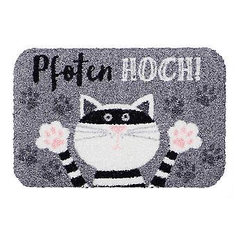 Mini mat Salon lion paws high cat funny little doormat shoe storage bowl base