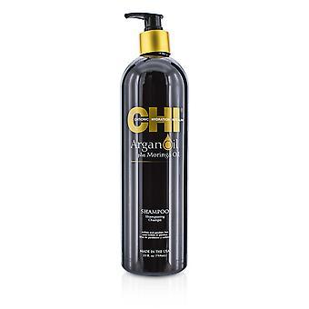 Argan oil plus moringa oil shampoo sulfate & paraben free 125215 739ml/25oz