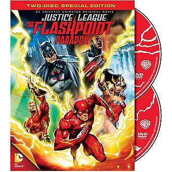 Dcu Justice League-Flashpoint Paradox [DVD] USA import