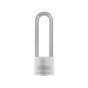 ABUS 64TI/30mm TITALIUM Padlock 60mm Long Shackle Carded ABU64TI3060C