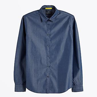 Scotch & Soda  - Yarn Dyed Shirt - Blue