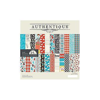 Authentique Ingredient 8x8 Inch Paper Pad