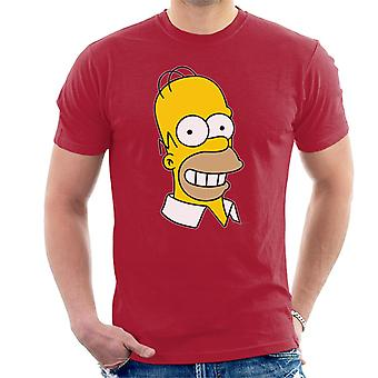 The Simpsons Smiling Homer Men's T-Shirt