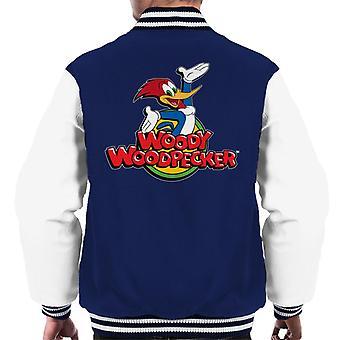 Woody Woodpecker Classic Logo Men's Varsity Jacket