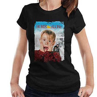 Home Alone Film Poster Women's T-Shirt