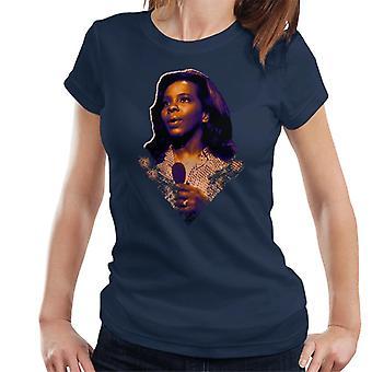 TV kertaa sielun laulaja Gladys Knight 1971 naisten t-paita