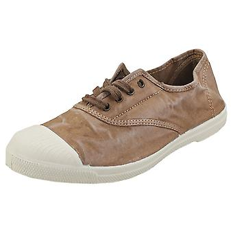 Natural World Old Lavanda Womens Casual Shoes in Beige
