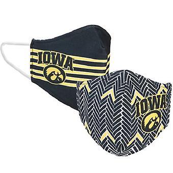 Iowa Hawkeyes NCAA Desden Máscara Facial Reversível