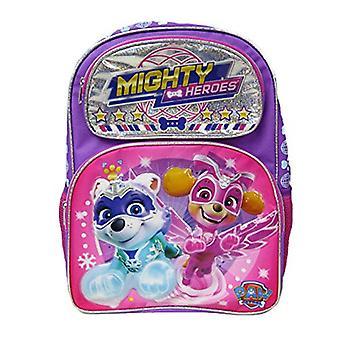 Backpack - Paw Patrol - Mighty Heroes Purple 16