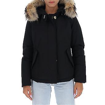 Woolrich Wwou0301frut0001blk Women's Black Nylon Down Jacket