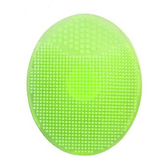 Silicone Baby Massage Wash Pad Face Scrub Brush Dirt Remover Exfoliating Fda Blackhead