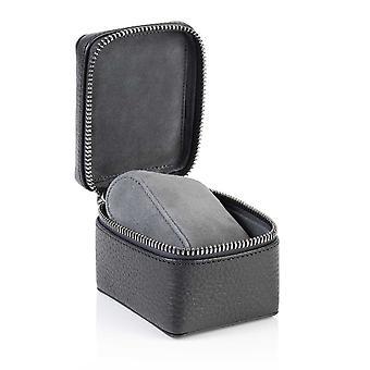 Liuskekivi Harmaa Richmond Nahka Watch Box