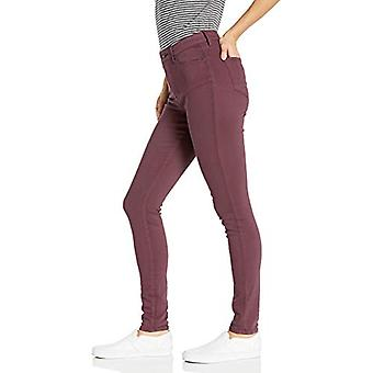 Marque - Goodthreads Women-apos;s High-Rise Skinny Jean, Bourgogne, 27 Regular