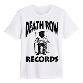 Death Row Records Logo (White) Official Tee T-Shirt Unisex