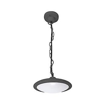 Forlight Pergola - LED Utomhus tak hängande ljus Urban Grå IP44