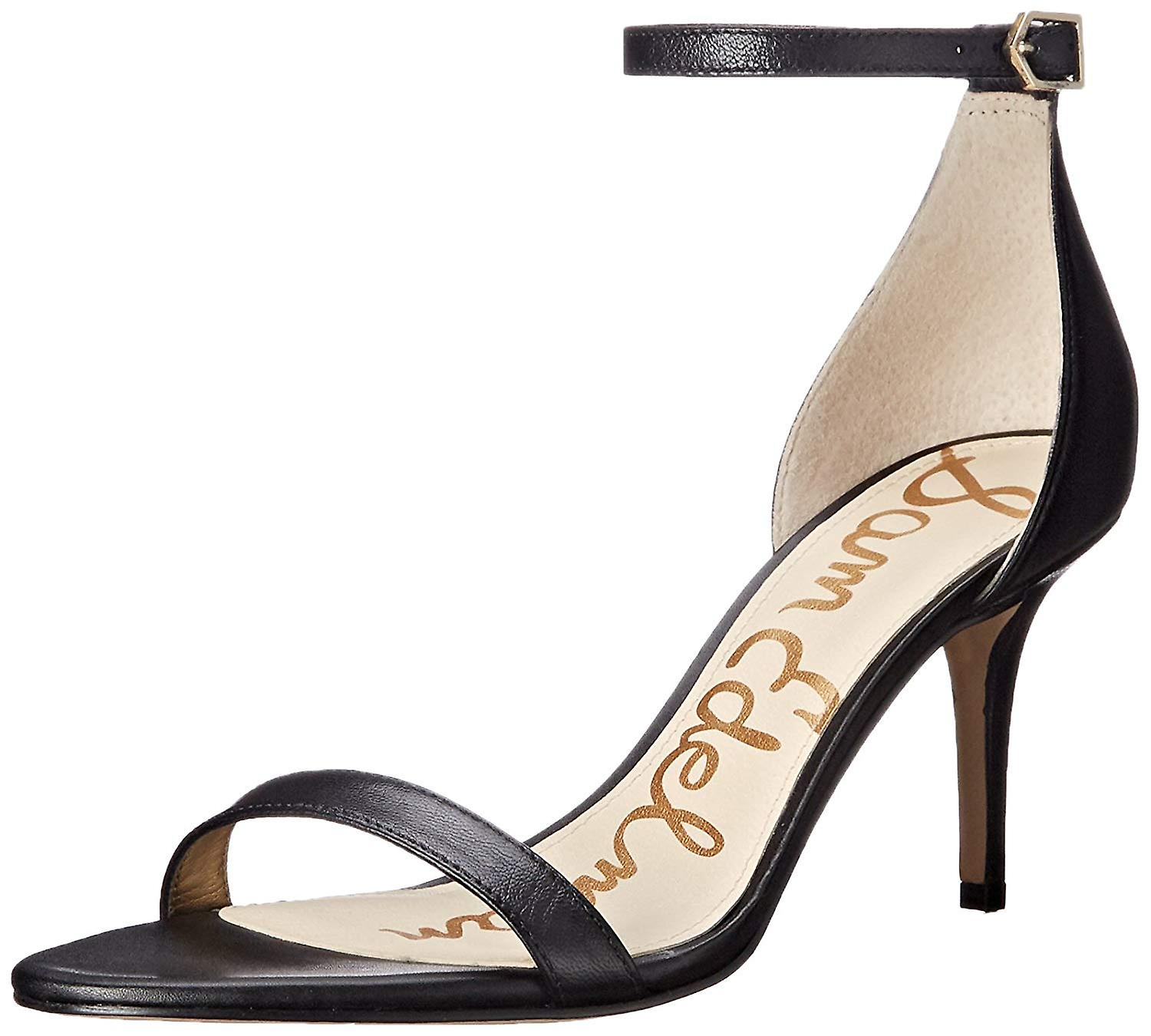 Sam Edelman Womens Patti Leather Open Toe Casual Ankle Strap Sandals