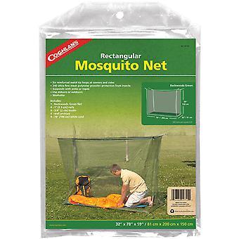 Coghlan's Suorakulmainen hyttysverkko, vihreä, mesh-verkko suojaa hyönteisiltä