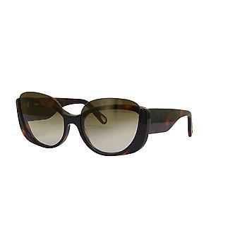 Chloe Cayla CE754S 004 Black-Havana/Brown Gradient Sunglasses