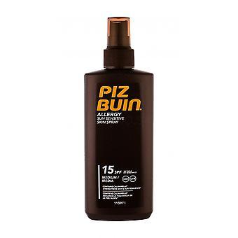 3 x Alergie Piz Buin na slunce citlivý sprej SPF15 - 200ml