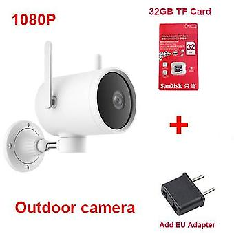 Camera Outdoor Waterproof With  270 Angle 1080p Wireless Wifi,  Night Vision
