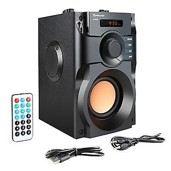 مكبر صوت بلوتوث كبير الطاقة، ستيريو لاسلكية مضخم صوت، مكبرات الصوت الثقيلة باس،