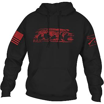Grunt Style R.E.D. Friday Pullover Hoodie - Black