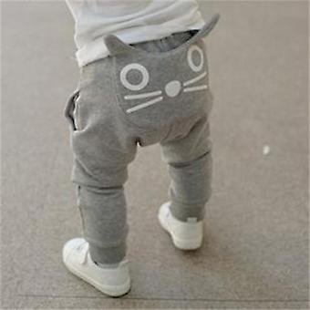 Tanguoant Spring And Autumn Kids Clothing / Harem Pants- Cotton Owl Trousers