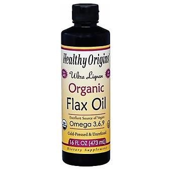 Healthy Origins Ultra Organic Flax Oil, 16 fl oz