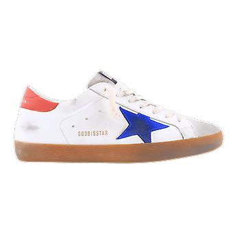 Golden Goose Superstar Leather Suede White GMF00101F00035580322 shoe