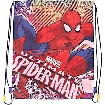 Spiderman Ultimate Spider-Man Kuntosali Laukku Lasten laukku 40x32cm
