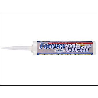 Everbuild Forever White Bath Sealant Clear