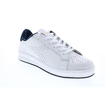 Diadora Martin Premium  Mens White Lifestyle Sneakers Shoes