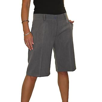 Shorts smart tailored femmes Smart Casual Lavable Day Evening Shorts légers 8-22
