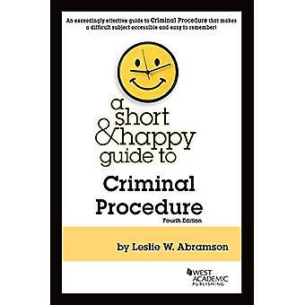 En kort & glade Guide til strafferetlig Procedure (kort & glad guider)